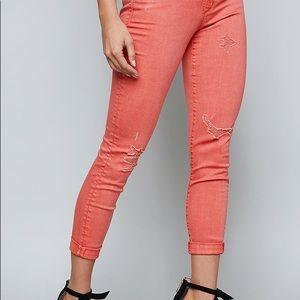 Bebe Heartbreaker Skinny Jean size 25 NWT